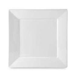 White-Square-plate