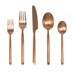 BrushedCopper-Flatware
