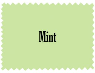 Mint Linen Color